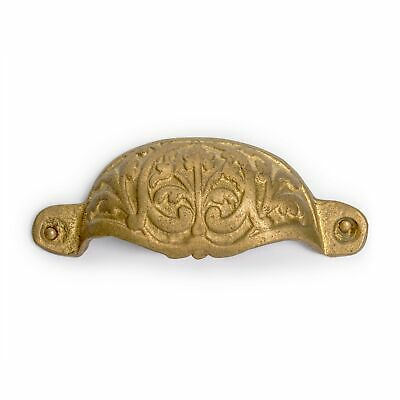 "Bamboo Leaf Handle Pulls 3.5"" - Set of 2"