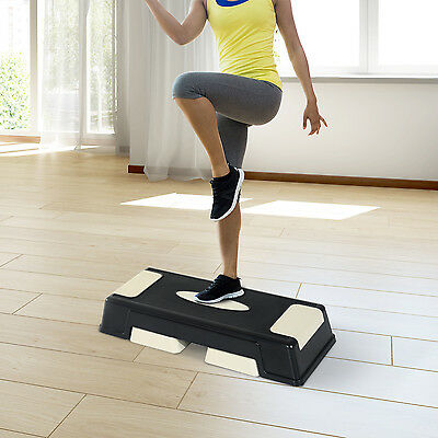 Step Fitness Tabla Stepper Aerobic Deporte Gimnasia Altura Regulable 3 Niveles