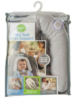 Playette Ultra Soft Head Support (Grey)