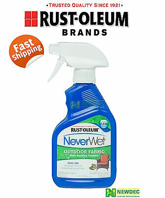 Neverwet Never Wet Rust-Oleum Outdoor Fabric Waterproof Treatment Spray
