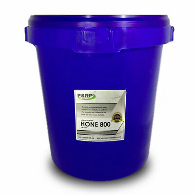PSRP Hone 800Grit 20KG Honing, Cleaning Powder for Travertine, Marble, Limestone