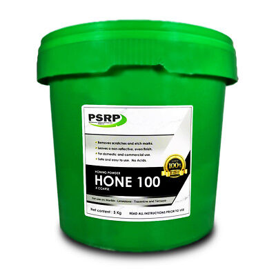 PSRP Hone 100Grit 5KG Honing / Cleaning Powder for Travertine, Marble, Limestone