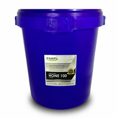 PSRP Hone 100Grit 20KG Honing, Cleaning Powder for Travertine, Marble, Limestone