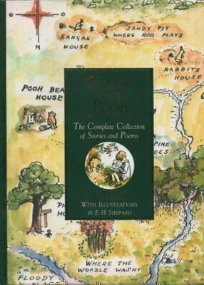 Winnie The Pooh : The Complete Collection of Stories &... by A A Milne Paperback
