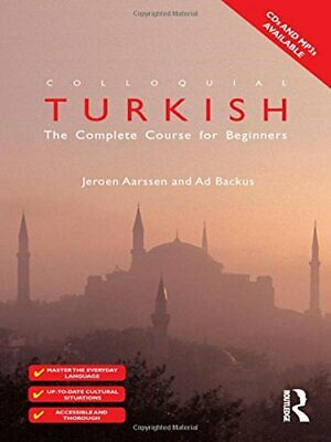 Colloquial Turkish: The Complete Course for Begi... by Aarssen, Jeroen Paperback