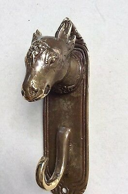 Pure Bronze Bull  Head Coat Hanger