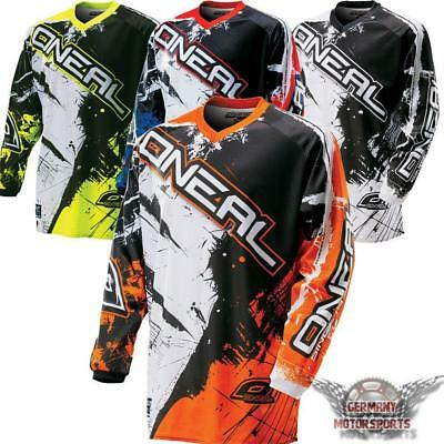 Oneal Moto Cross Shirt Trikot Jersey Shocker Ktm Fx Orange Quad Supermoto Mx