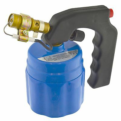 Butane Blow Torch Gas Plumbing 190g Flame Cylinder Bottles Piezo Ignition SIL3