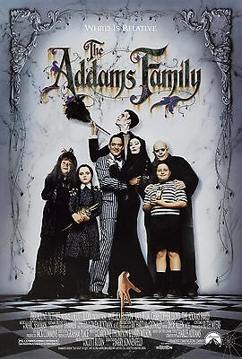 Addams Family. Anjelica Huston ..Classic Comedy Movie Poster A1A2A3A4Sizes