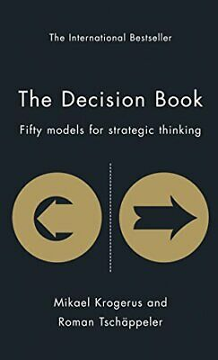 The Decision Book: Fifty Models for Strategic Thi... by Mikael Krogerus Hardback