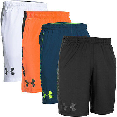 Under Armour 2016 Mens UA Raid Graphic Sports Gym Training Shorts