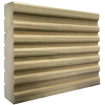123mm x 33mm Treated Wooden Decking Boards 1.8m - 3.6m Lengths Garden Wood Deck