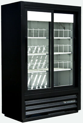 True GDM-33SL-54 Sliding Glass 2 Door Commercial Refrigerator Merchandiser