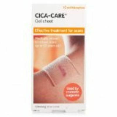 CICA-CARE Gel Sheet 1 Dressing 6cm x 12cm - For Scar Treatment