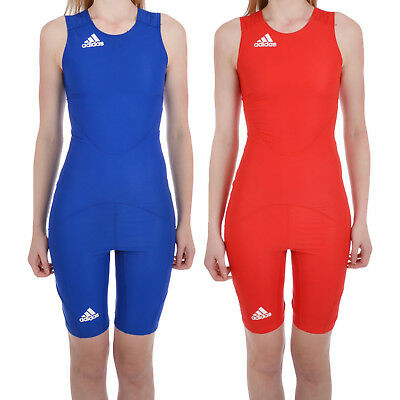 adidas Performance Womens Powerweb Sleeveless Wrestling Suit Singlet