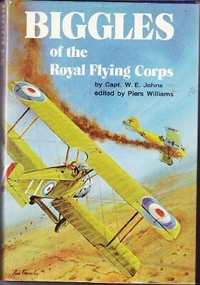 Biggles of the Royal Flying Corps, Johns, W. E. Hardback Book The Cheap Fast