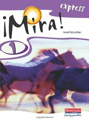 Mira Express 1 Pupil Book: Year 8 by Mclachlan, Ms Anneli Paperback Book The