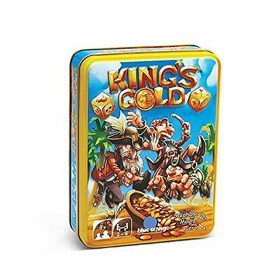 Blue Orange 1400 King's Gold Game NEW