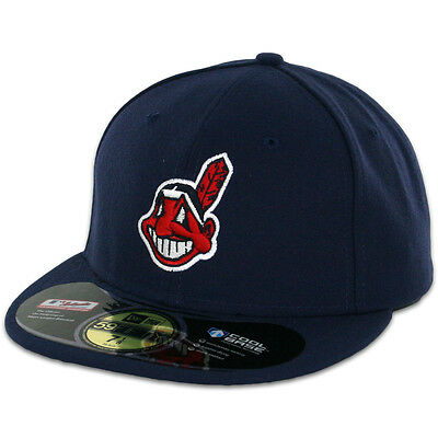 Cleveland INDIANS 2014 ALTERNATE 2 New Era 59FIFTY Fitted Caps MLB On Field Hats