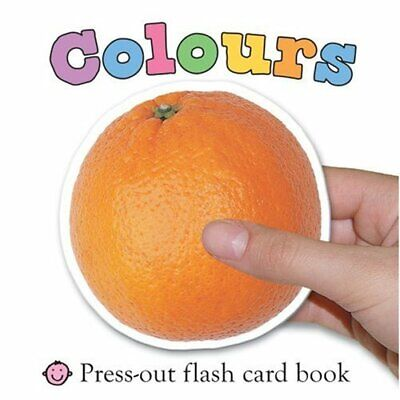 Colours (First Words Flash Card Books), Roger Priddy Board book Book The Cheap