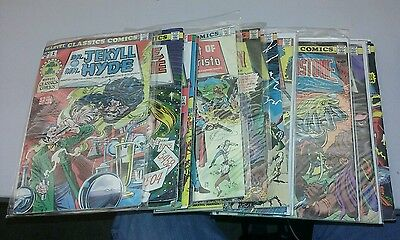 huge marvel classics comics lot 17 issues run set collection illustrated stories