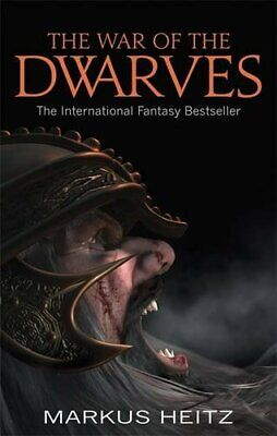 The War Of The Dwarves by Heitz, Markus Paperback Book The Cheap Fast Free Post