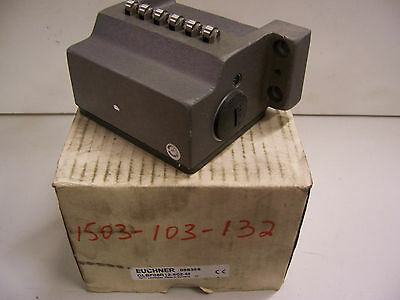 EUCHNER GLBF06R12-502-M - 6 way Precision Limit Switch  - BRAND NEW