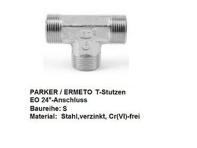 Parker Ermeto Hydraulic Fitting T-Support Heavy Series Cutting Ring