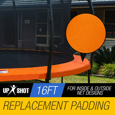 NEW UP-SHOT 16ft Replacement Trampoline Pad - Springs Outdoor Safety Round Cover