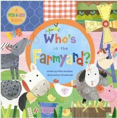 Who's In The Farmyard? - New Hardcover Book