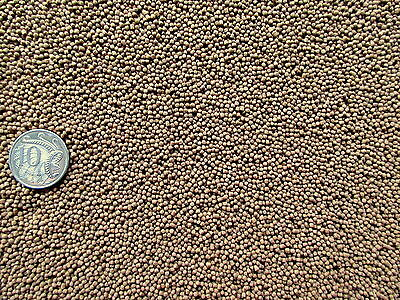 SUPREME NATURAL FLOATING FISH FOOD PELLET 1mm -Goldfish Koi Tropical (500g-20kg)