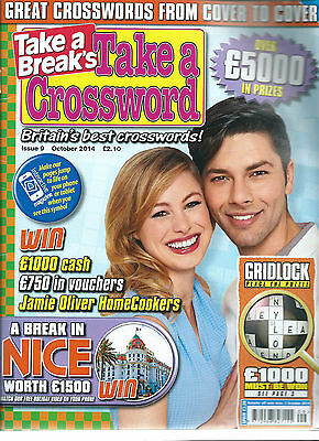 2 Crossword Magazines By Take A Break Britains Best Crosswords  A4 Size Free P/p