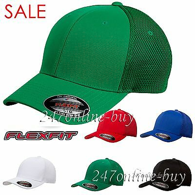 Original FLEXFIT Mens Ultrafiber Cap with Air Mesh Sides Fitted Trucker Hat 6533