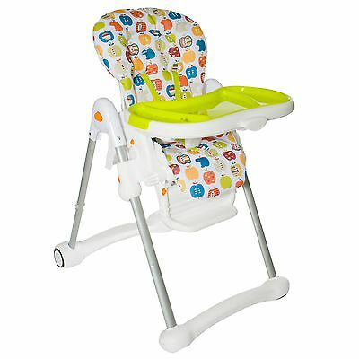 New Red Kite Feed Me Trio Hi / Lo Chair Crunchy Apples Adjustable Highchair