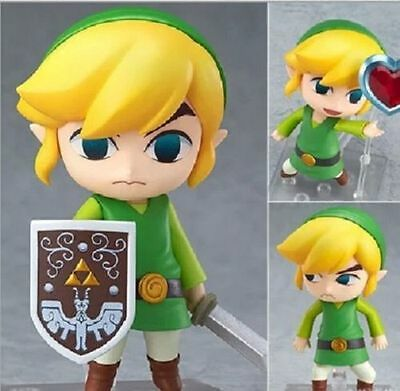 Nendoroid 413 Link The Legend of Zelda The Wind PVC Action Figure Anime Toy Gift