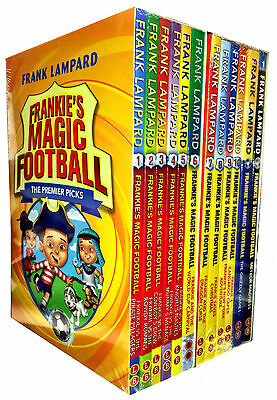 Frankie's Magic Football Series 1 & 2 Frank Lampard 12 Books Collection Set Pack