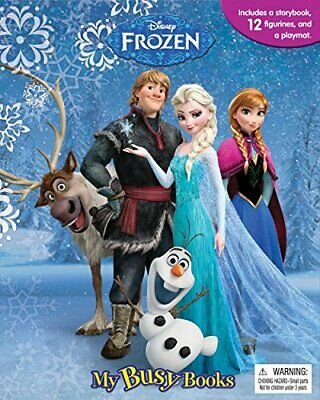 DISNEY FROZEN MY BUSY BOOKS / ACTIVITY KIT / PLAY SET - Includes a Di..., Phidal
