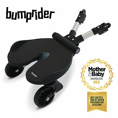 New Bumprider Black One 4 All Childs Ride On Universal Buggy Stroller Board