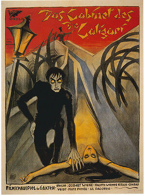 Home Wall Art Print - Vintage Movie Film Poster - DR CALIGARI - A4,A3,A2,A1