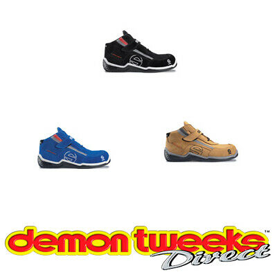 Sparco Sport H Leisure Boots - Leather Or Suede/Nubuck Upper - Racing/Motorsport
