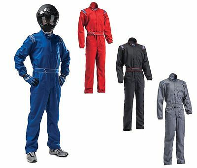 Sparco MX3 Cotton Indoor Kart/Karting/Go Kart Overalls/Suit