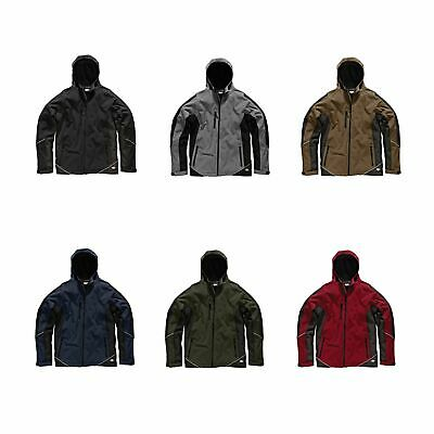 Dickies Two Tone Waterproof / WP Polyester Soft Shell Jacket - Workwear / Garage