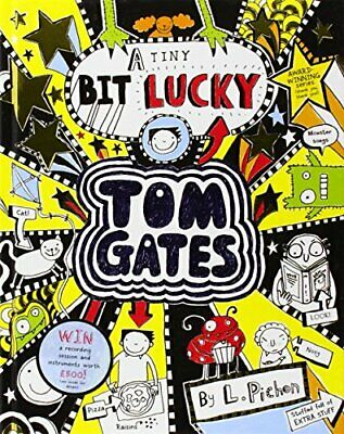 Tom Gates: A Tiny Bit Lucky, Pichon, Liz Book The Cheap Fast Free Post