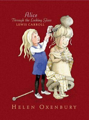 Alice Through The Looking Glass by Carroll, Lewis Hardback Book The Cheap Fast