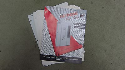 Lacross Bev Serv 12 Vending Machine Manual - vintage original