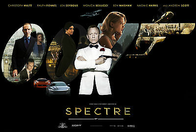 Home Wall Art Print - Vintage Movie Film Poster - SPECTRE 2 - A4,A3,A2,A1