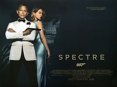 Home Wall Art Print - Vintage Movie Film Poster - SPECTRE 4 - A4,A3,A2,A1