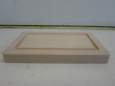Maple Cutting and Serving Board with Well and Handles (1 1/4'' x 8'' x 13'')