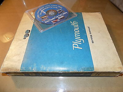 1968 plymouth cd shop manual barracuda fury valiant road runner 1968 plymouth orig service manual gtx barracuda belvedere road runner satellite