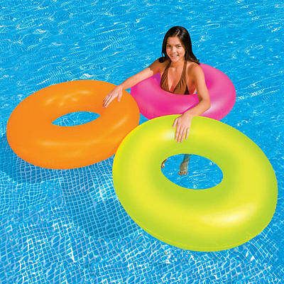 """Intex Neon Frost Inflatable Floating 36"""" Tube"""